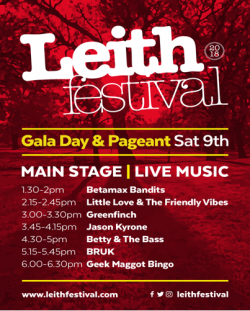 LEITH FESTIVAL MAIN STAGE